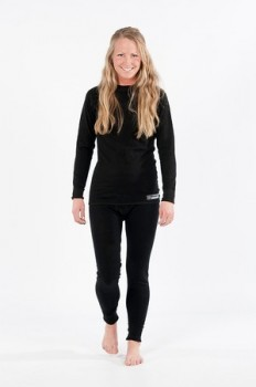 Merino wool thermal set from Raindrops.com
