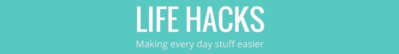 Life hacks banner 3