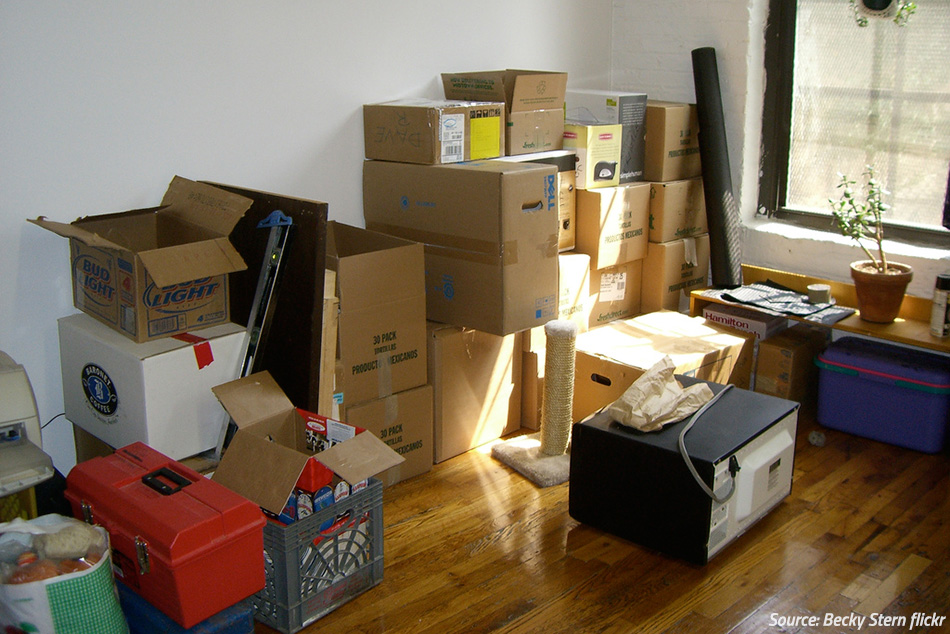 Moving – Start in the Attic!